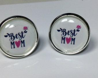 Mother's Day Earrings Best Mom Jewelry Mom Jewelry