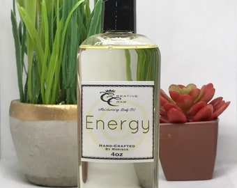 Energy Body Oil, Hair Oil