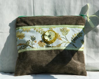 Pouch, case, purse, fabric,