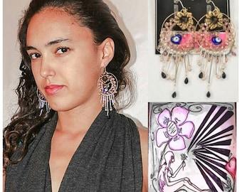 Self Design Lucid Earrings