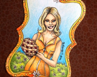 Olive Snook (Kristin Chenoweth) - Pushing Daisies Sketch Card