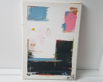 Abstract painting (25cm x 35cm)