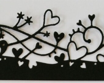 8 Cherish Border Die Cuts- Only One of Set #2 Is Available
