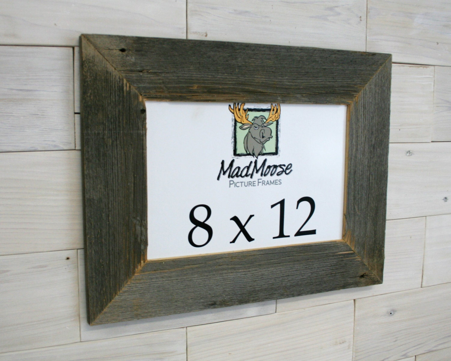 8x12 BarnWood [Thin x 3] Picture Frame