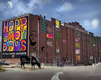 Happy Mondays Megastore and Museum, spoof,