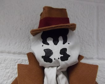 Rorschach Sock Monkey (Watchmen Comic Geek Doll Plush Alan Moore)
