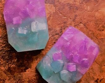 Fluorite Crystal Soap