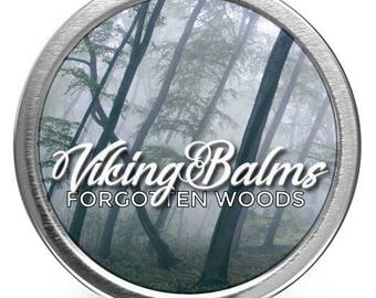 VikingBalms - Forgotten Woods - All Natural Beard Balm - 2oz