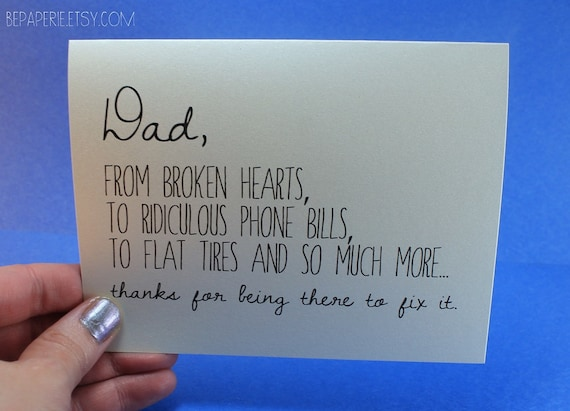 Dad card fathers day card dad birthday card funny like this item bookmarktalkfo Choice Image