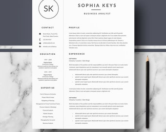 professional resume template for word pages resume templates cover letter references - Free Resumes Templates