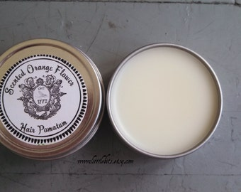Orange Flower Pomatum - Pomade Historical label