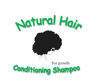 Natural Hair Conditioning Shampoo