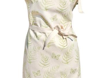 fern leaf stag apron