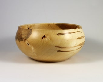 Outstanding Enclosed Rim Wooden Bowl - This Bowl Is Amazing on So Many Levels and Would Make a Perfect Holiday Gift!