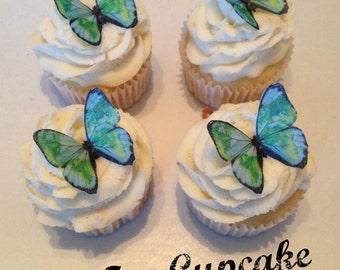 Earth Print Edible Butterflies -12