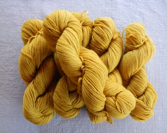 YARN SALE - 100% Organic Merino Washable Wool Sport Weight Yarn - Stash Sale!
