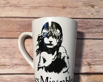 Les Miserables inspired drink ware