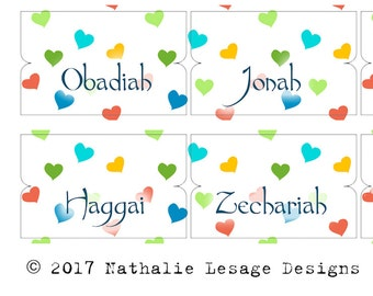 Bible Journaling Bible Tabs Printable Labels Tabs for Bible Christian Bible Journal Supply Scrapbooking Supplies by The Crafty Tribe 2017BT6