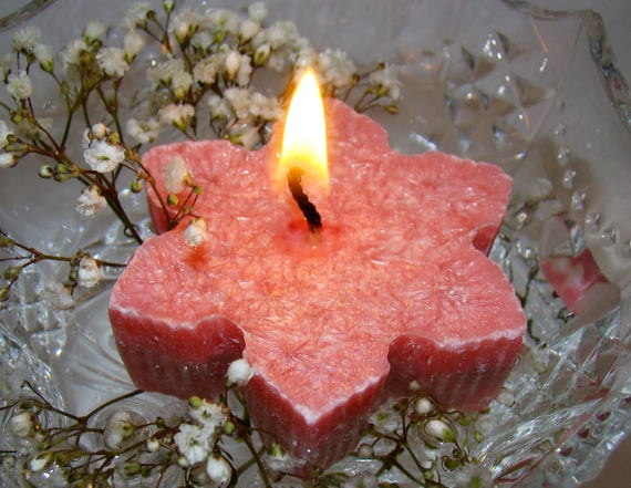 Schwimmende Kerze Hochzeitskerze Herzstück Palm Wachskerze Kerze Stern Duft  Erdbeere Kerze Wedding Favor Geschenk Empfang Tisch Dekor