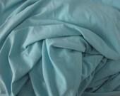 Tricot Jersey bleu sarcelle de la Cour ou Cour de moitié bleu Spandex tricot ITY 4 Way Lycra extensible tissu vêtements habillement Fashion tissu tricot