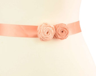 Bridal sash roses