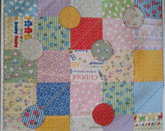 Baby Talk small baby quilt