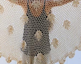 Crochet Lace Shawl Crochet Shawl Pattern Handmade Shawl Wrap Pattern Wedding Shawl Wedding Wrap Extra-large Shawl Crochet Shawl Wrap