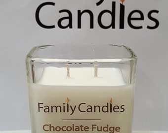 Family Candles - Chocolate Fudge 7.5 oz Double WIcked Soy Candle