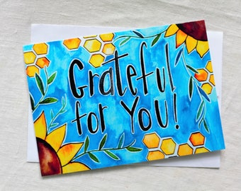 CARD - Grateful for You