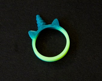 Colour Changing Unicorn Ring