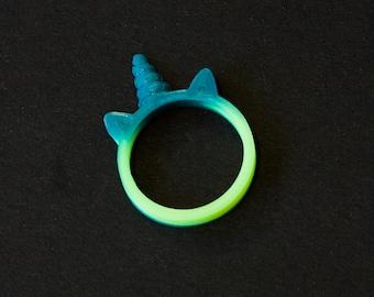 Colour Changing Unicorn Ring