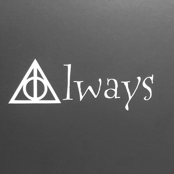 Snitch Potter Always Deathly Hallow Symbol I Shouldnt