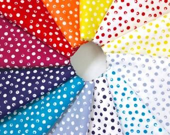 Clever Dots - Fat Quarter Bundle - Windham Fabrics Basic - 12 pieces