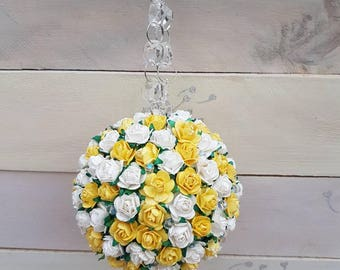 Flower girl, bridesmaid, Pomander, kissing ball, Wedding Decor