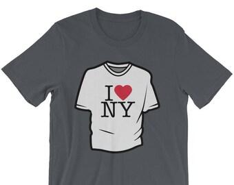 New York Tshirt Parody Tshirt, New York Parody Tshirt, Funny New York Gift, New York Gift Tshirt