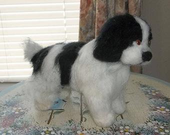 Nedle Felted Newfoundland Puppy