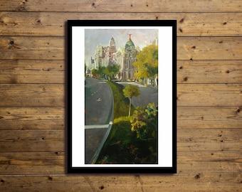 Poster Artistico 50x70cm URBAN 11