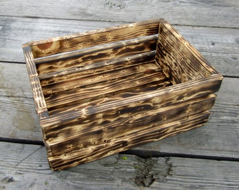 Wood Crate - Rustic Home Decor - Great For Storage, Shelving, or Display