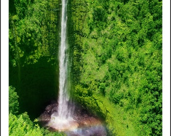 Akaka Falls, Big Island Hawaii, 4x6-8x10 open edition signed, 11x14-16x20 limited edition (750 in edition) signed & numbered