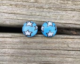 Wonder Women bottoms fabric stud earrings