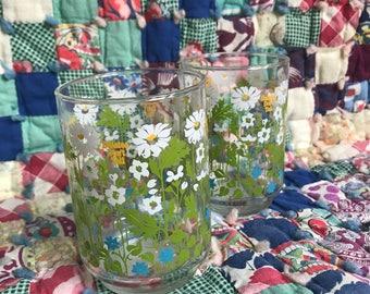 Art Deco Glass Cups
