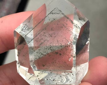 Rock crystal Lodolite Item71