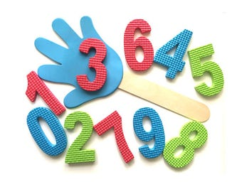 Smack the Number Activity for Preschoolers, Preschool Learning Game, Number Activities, Counting Games, Learning Numbers