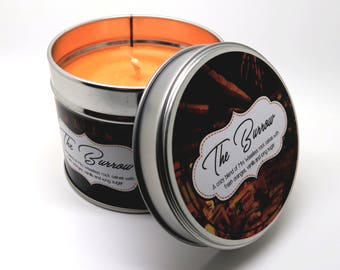 Harry Potter - The Burrow inspired Scented Candle