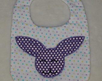 Easter Bunny Baby Bib