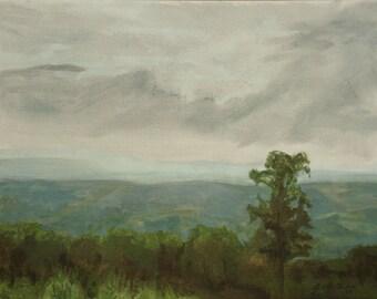 Shenandoah #2 (oil painting of Shenandoah National Park, Virginia. Skyline Drive)