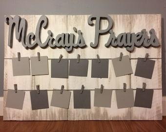 Family Large Customized Prayer Board