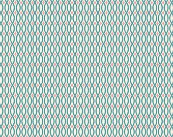 ORGANIC Cotton, Monaluna Fabrics, Raaga Collection, Rivulet, 1 yard