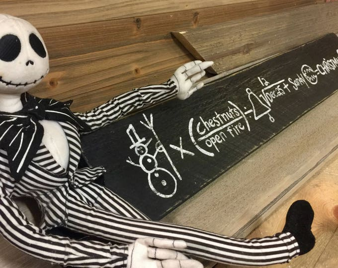 Nightmare Before Christmas Formula. Nightmare Before Christmas Decor. Jack Skellington. Halloween Decor. Halloween Signs. Vintage Halloween
