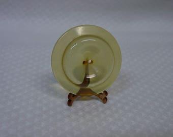 """Vintage Antique Bakelite Button Large Apple Juice  Indented Center 1 3/8"""""""